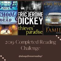 My 2019 Completed Reading Challenge!!!